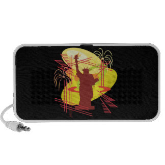 Statue Of Liberty Mp3 Speakers
