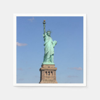 Statue of Liberty Napkins Standard Cocktail Napkin