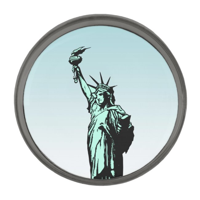 Statue of Liberty Nation of Immigrants Lapel Pin