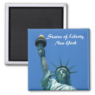 Statue of Liberty, New York 2 Inch Square Magnet