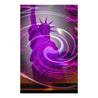 Statue of Liberty New York 3 Stationery