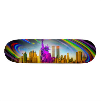 Statue of Liberty New York 5 Skateboard
