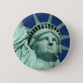 Statue of Liberty, New York Button