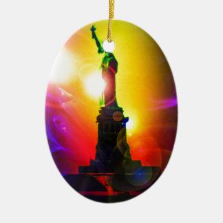 Statue of Liberty New York Ceramic Ornament