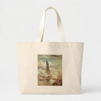 Statue of Liberty New York circa 1800 s Bags