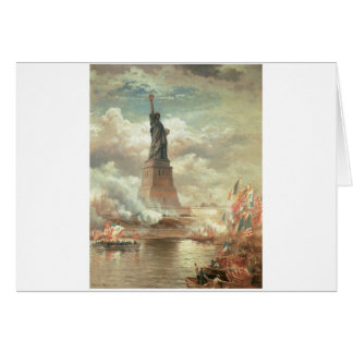 Statue of Liberty, New York circa 1800's Greeting Cards