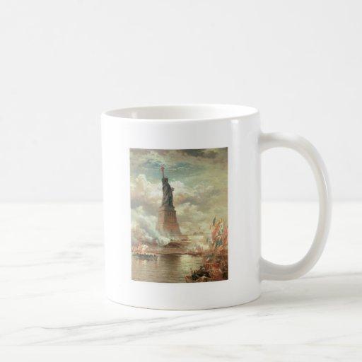 Statue of Liberty, New York circa 1800's Coffee Mug