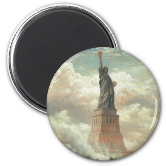 Statue of Liberty, New York circa 1800's Magnet