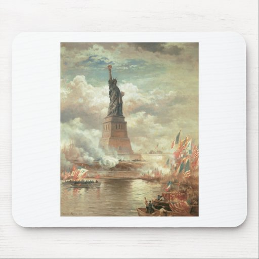Statue of Liberty, New York circa 1800's Mouse Pad