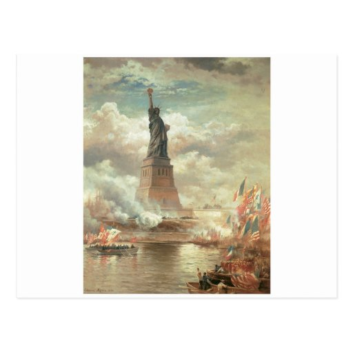 Statue of Liberty, New York circa 1800's Post Cards
