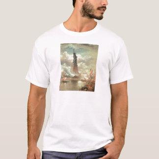 Statue of Liberty, New York circa 1800's T-Shirt