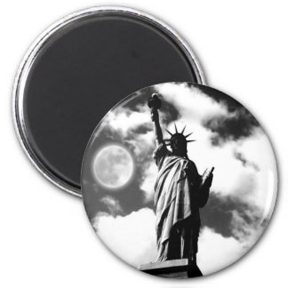 Statue of Liberty New York City 2 Inch Round Magnet
