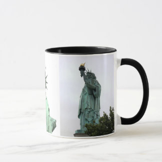 Statue of Liberty New York City 3 Photos Mug