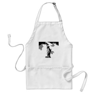 Statue of Liberty New York City Adult Apron