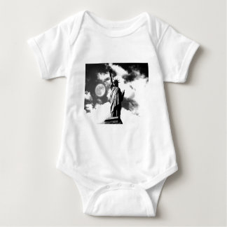 Statue of Liberty New York City Baby Bodysuit