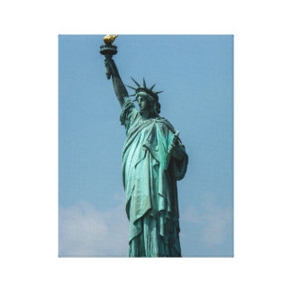 Statue of Liberty, New York City Canvas Print