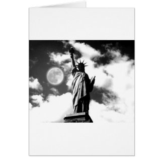 Statue of Liberty New York City Card