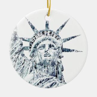 Statue of Liberty New York City Ceramic Ornament