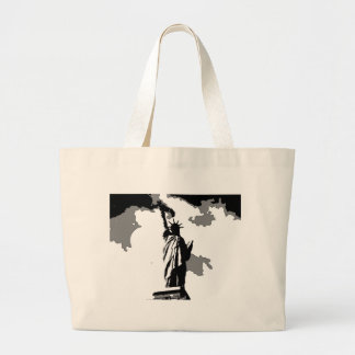 Statue of Liberty New York City Large Tote Bag
