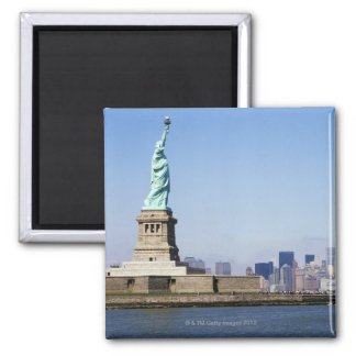 Statue of Liberty, New York City, New York 2 Inch Square Magnet