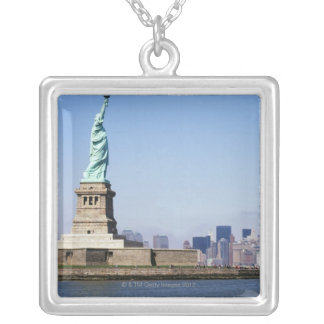 Statue of Liberty, New York City, New York Silver Plated Necklace