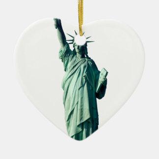 Statue of Liberty New York City NYC Ceramic Ornament