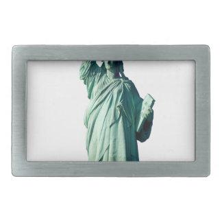 Statue of Liberty New York City NYC Rectangular Belt Buckle