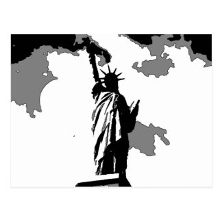 Statue of Liberty New York City Postcards