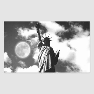 Statue of Liberty New York City Rectangular Sticker