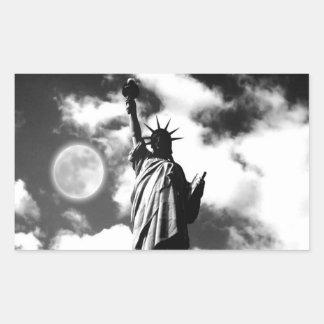 Statue of Liberty New York City Rectangular Sticker