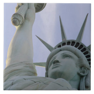 Statue of Liberty, New York Large Square Tile