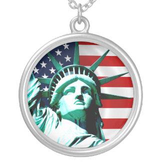 Statue of Liberty, New York Custom Necklace
