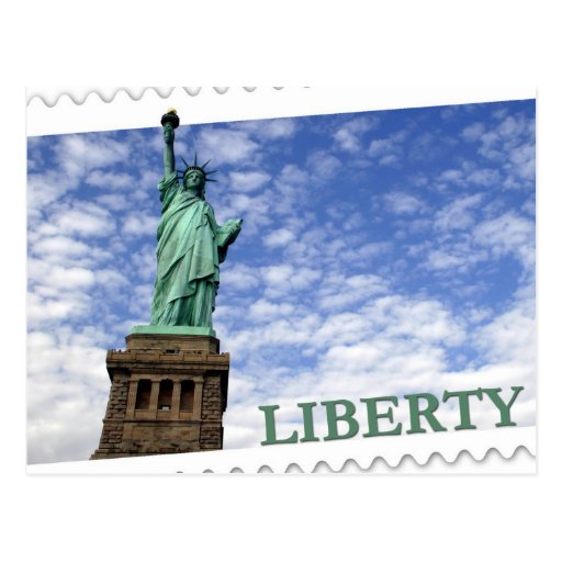 Statue of Liberty - New York / New Jersey Postcard