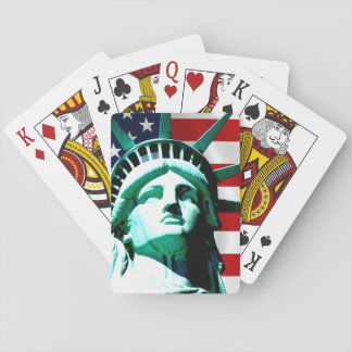 Statue of Liberty, New York Poker Deck