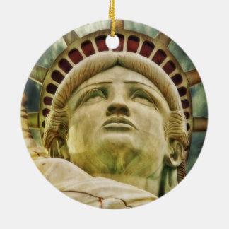 Statue of Liberty, New York Christmas Ornament