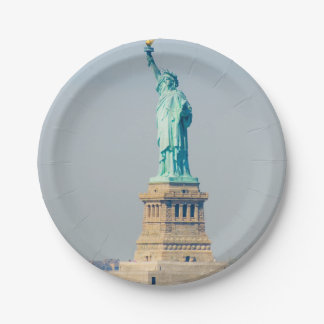 Statue of Liberty New York - Paper Plate