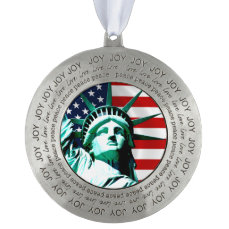 Statue of Liberty, New York Pewter Ornament
