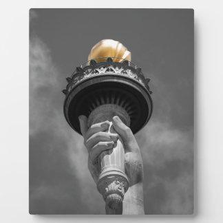Statue of Liberty, New York Plaque