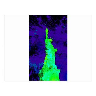Statue of Liberty,New york Postcard