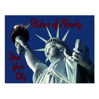 Statue of Liberty New York Postcard