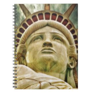 Statue of Liberty, New York Spiral Notebook