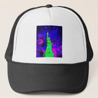 Statue of Liberty, New York Splash Painting Trucker Hat