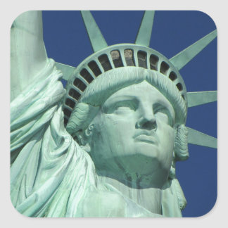 Statue of Liberty, New York Square Sticker
