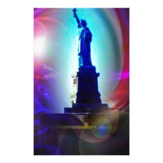 Statue of Liberty New York Stationery