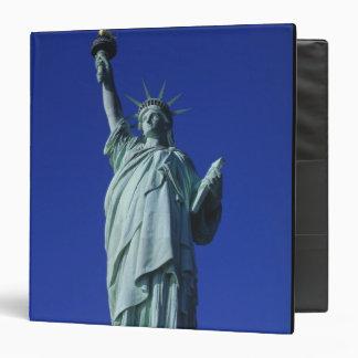 Statue of Liberty, New York, USA 4 Vinyl Binder