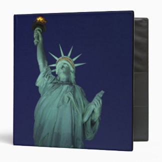 Statue of Liberty, New York, USA 6 3 Ring Binder