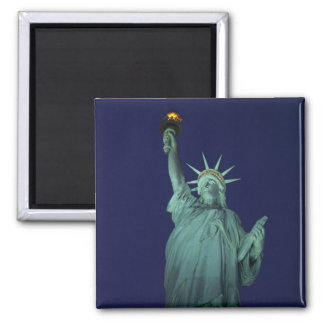 Statue of Liberty, New York, USA 6 2 Inch Square Magnet
