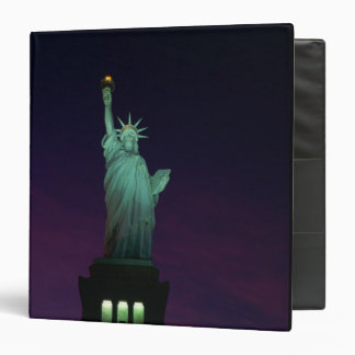 Statue of Liberty, New York, USA 7 3 Ring Binder