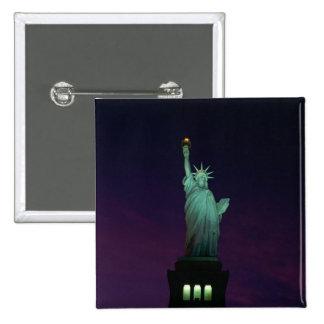 Statue of Liberty, New York, USA 7 Pinback Button