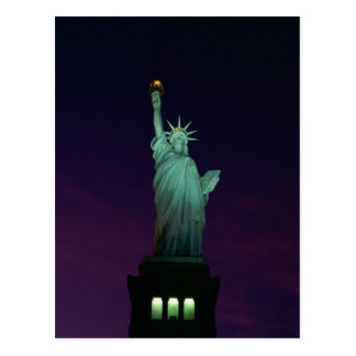 Statue of Liberty, New York, USA 7 Postcard